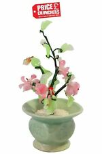 Chinese Ceramic Artificial Bonsai Tree Elm Plant Decor Figurine Gift Fish Tank