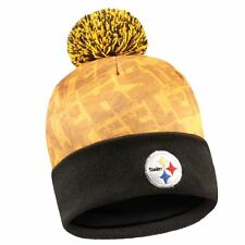 Pittsburgh Steelers Light Up Logo Pom Pom Hat