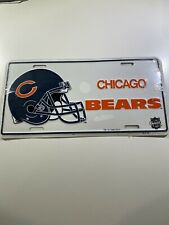 Vintage Chicago Bears Nfl License Plate Vanity Cover