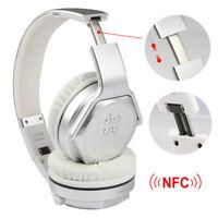 KOCASO HP-530 Wireless Stereo Headphones w/Mic Speaker NFC Aux-in FM Foldable