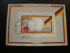 ALLEMAGNE (rfa) - timbre yvert et tellier bloc n° 9 obl (A1) stamp germany