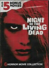 Night of the Living Dead Plus 5 Bonus Movies Dvd New