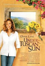 DIANE LANE UNDER THE TUSCAN SUN 27X41 AUTHENTIC DOUBLE SIDED THEATRE POSTER