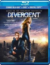 Divergent (Blu-ray/DVD Bilingual) Free Shipping In Canada