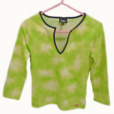 VENICE BEACH ACTIVEWEAR Green Surf Top Size Small S Sun Protection Womens Girls