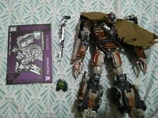 Transformers Studio Series 34 Leader Class Dark of the Moon Megatron Complete