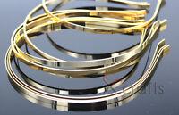 5MM DIY Gold Color Metal Hairband,Women/Baby DIY Hair headband Accessories
