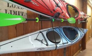 Seattle Sports brand Double-Up Kayak Storage Wall Cradles with hardware .. New