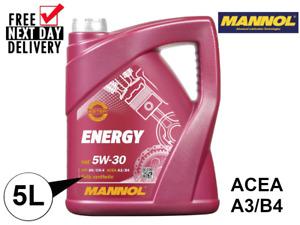 MANNOL (7511) 5W30 A3/B4 API SN/CH-4 (5L) **FULLY SYNTHETIC**
