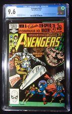 Avengers #215 CGC 9.6...Silver Surfer & Molecule Man app...Cracked slab