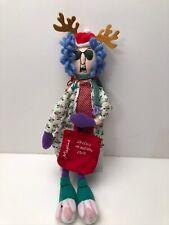 New ListingHallmark Maxine Christmas Holiday Rag Doll, Stressed in Holiday Style, Mxf1167
