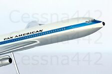 PACMIN - RARE Boeing 707 Pan Am 1/100 Vintage Collectable Custom Base Gift