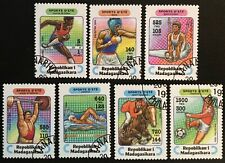 Madagascar 1994, Deportes / Summer sports, Mi Nr. 1709-1715 usado