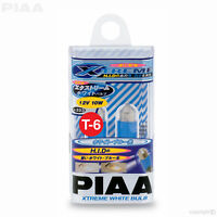 H-223E PIAA XTREME WHITE Festoon Interior Light Bulbs T10x31mm 12V 10W (289) T-6