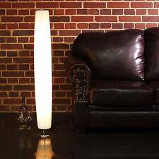 RUNDE DESIGNER STEHLEUCHTE PARIS | 120 cm, weiß | Bodenlampe, Stehlampe plissee