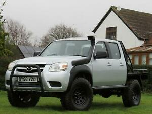 RESERVED!!! Mazda BT-50/Ranger 2.5TD 4x4 Double Cab Pickup TRAYBACK FLATBED UTE