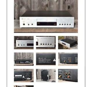 Rare Jolida jd 100 CD player tube output with Remote, and Analysis Plus plug