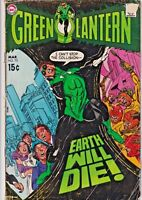 GREEN LANTERN#75 GD 1970 DC BRONZE AGE COMICS