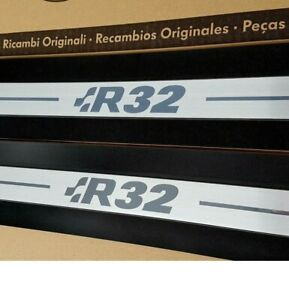 "Original VW Golf 4 IV R32 entry door sills ""R32"" Logo MK4 sticker film"