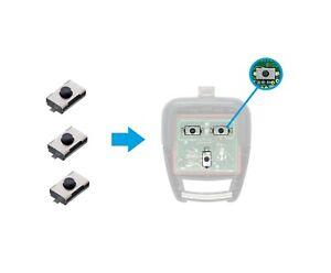 3x AMAKEY Microschalter für OPEL VECTRA C + SIGNUM + OMEGA B Fernbedienung