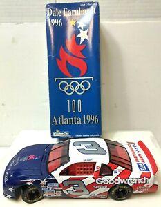 Dale Earnhardt #3 1996 Atlanta Olympics 100Action 1:24 Scale Die Cast Car