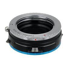 Fotodiox Objektiv-Shift-Adapter Pro  Pentax K Linse für Fujifilm X Kamera