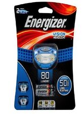 Energizer VISION HEADLIGHT+3xAAA 80lm, 30m Beam, Pivoting Head, 50Hrs *USA Brand