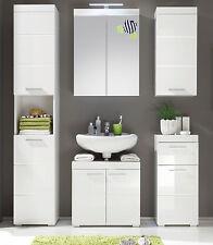 Badezimmer Kombination weiß Hochglanz Woody 93-00794