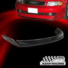96-01 Black  Type-O Poly Urethane Front Bumper Lip Spoiler Bodykit For Audi A4