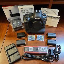 Canon EOS 5D Mark IV Digital SLR Camera - with Battery Grip BG-E20 - Barely Used