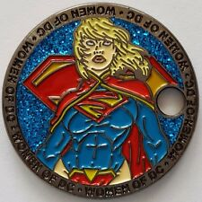 Supergirl Pathtag Coin Women of DC Comics Series Only 100 Complete Sets Made!