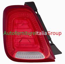 FANALE FANALINO STOP POSTERIORE SX BIANCO - ROSSO FIAT 500 15> 2015>