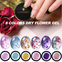 BORN PRETTY 6Pcs/Set Flower Fairy UV Gel Nail Polish Semitransparent Soak Off