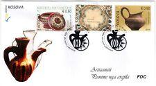 Kosovo Stamp 2018. Artisan – Clay works. FDC Set MNH