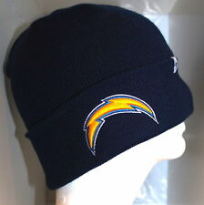 NFL Los Angeles Chargers Adult 47 BRAND Basic CUFFED KNIT Cap Beanie Hat Navy