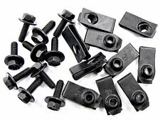 Bolts & U-Nuts For Subaru- M6-1.0mm Thread- 10mm Hex- Qty.10 ea.- #151