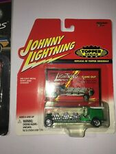 Johnny Lightning Topper Series Green Flame Out 2000 NIP