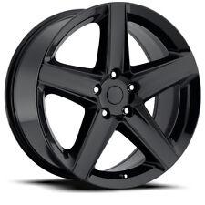 "20"" 20x 10"" Gloss Black Tire Package JeepWK1 Style fits Dodge Durango Wheels Rim"