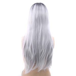 Women Popular Wavy Heat Resistant Women Hair Deluxe Wig Cosplay YO