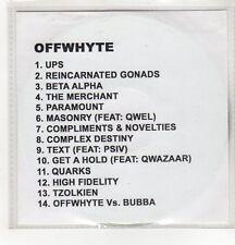 (GH408) Offwhyte, The Fifth Sun - DJ CD
