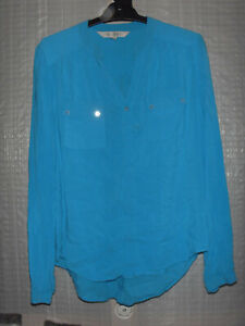 """""""FOREVER NEW"""" Blue Shirt, Size 12"""