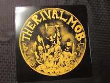 2013 The Rival Mob ‎– Mob Justice LP RP Red EX/EX Revelation Records – REV149