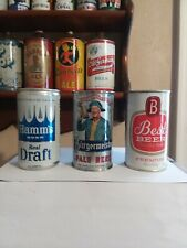 New ListingHamms,Best,Burgrem eister, Flat top beer cans breweriana collectibles.