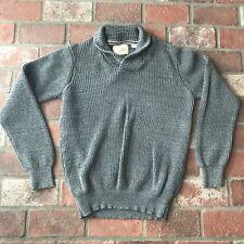 Weatherproof Vintage Women's Size Large 100% cotton Gray Sweater
