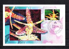 Nouvelle-Calédonie   cartes   flore fleur  orchidée  1996
