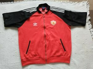 Manchester United Adidas tracksuit top