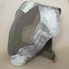 Airsoft CS Paintball Extreme Metal Mesh Full Face Protection Mask Camo L957