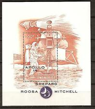 RWANDA # 407 MNH APOLLO 14 U.S. MOON MISSION
