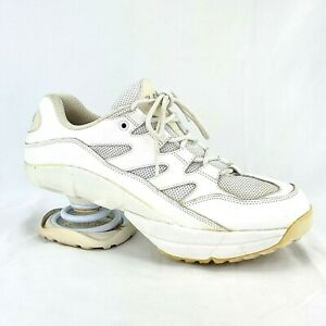 Z-COIL Freedom Classic White Orthotic Sneakers Therapeutic Shoes Mens Size 10