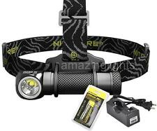 Nitecore HC30 LED Headlamp 1000 Lumen with 18650 Battery, Charger